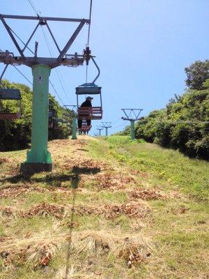 茶臼山リフト